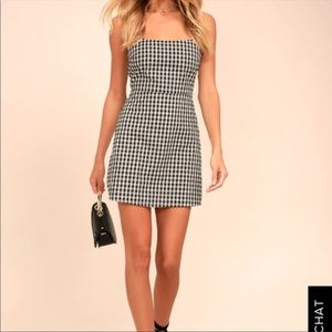 Lulus gingham Dress
